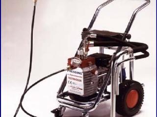 Elektrinis beorio dažymo aparatas