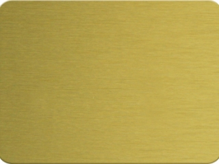 Brushed aluminum composite panel ACP