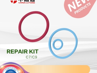 3126 cat injector o'ring kit for c7 cat injector 326-4756