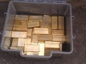 98.7% & 23+ Carats of AU Gold Dore Bars & Rough Diamonds for Sale